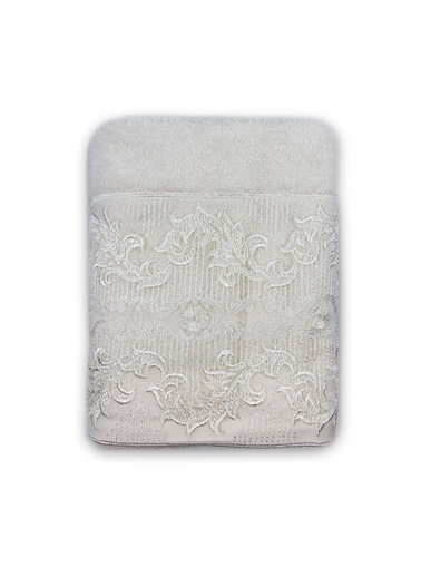 Nazik Home %100 Organik Banyo Pamuk Yüz Havlusu 50 x 80 cm Krem